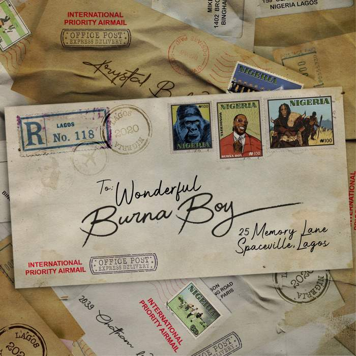 Burna Boy - Wonderful