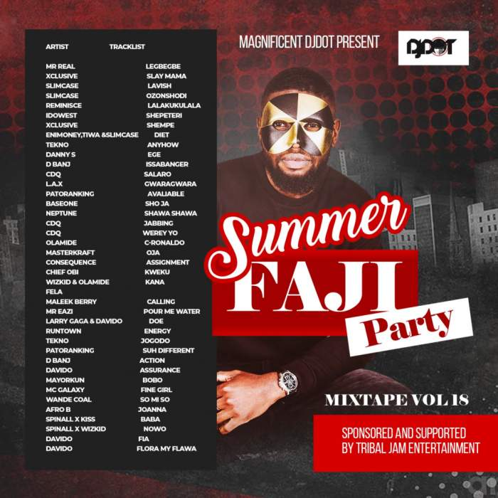DJ Dot - Summer Faji Party Mix (Vol. 18)
