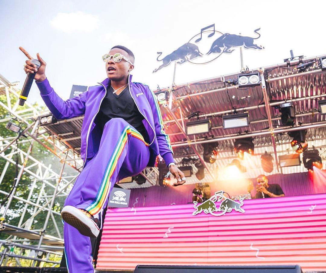 Watch Wizkid thrill the crowd at Notting Hill Carnival London 2017