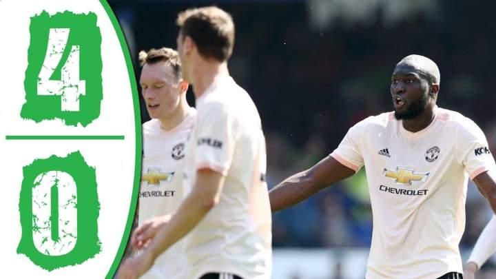 Everton 4 - 0 Manchester United (21-APR-2019) Premier League Highlights