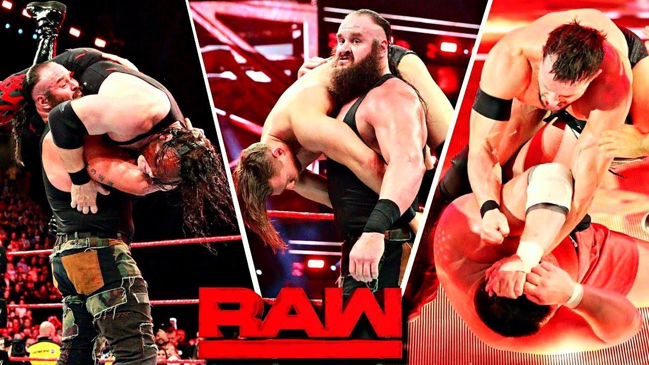 WWE RAW (Nov-6-2017) Highlights